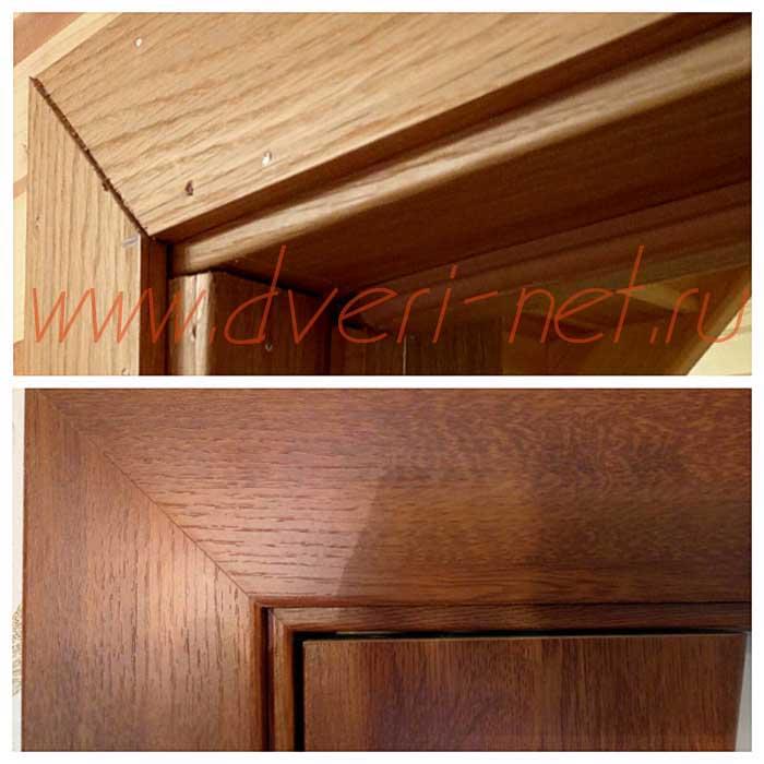 стык наличников и дверных коробок плохое и хорошее исполнение