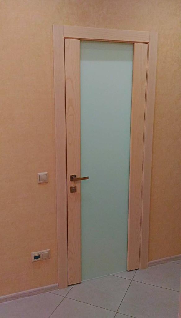 Установка дверей скрытые петли Ивантеевка