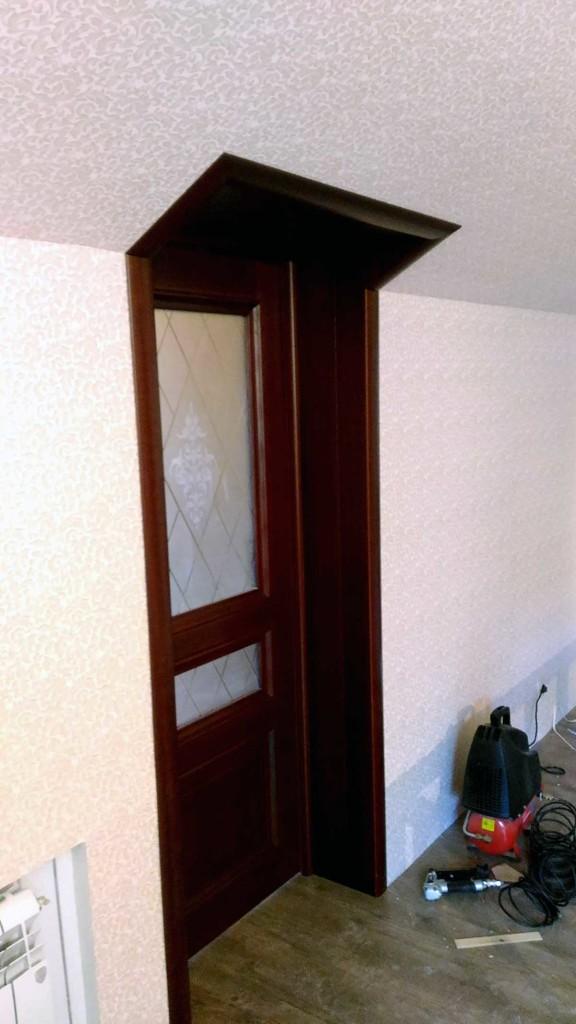 Сложная установка дверей Пушкино