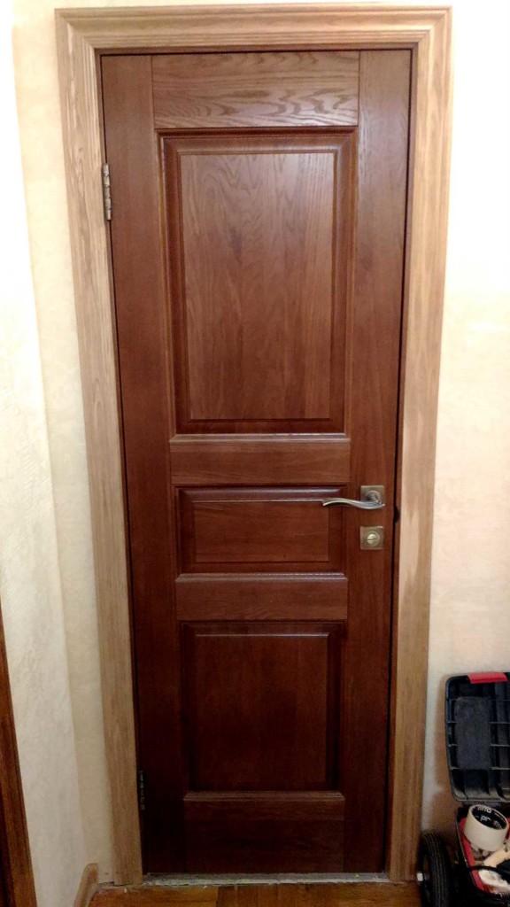 Дверь массив дуба Фрязино