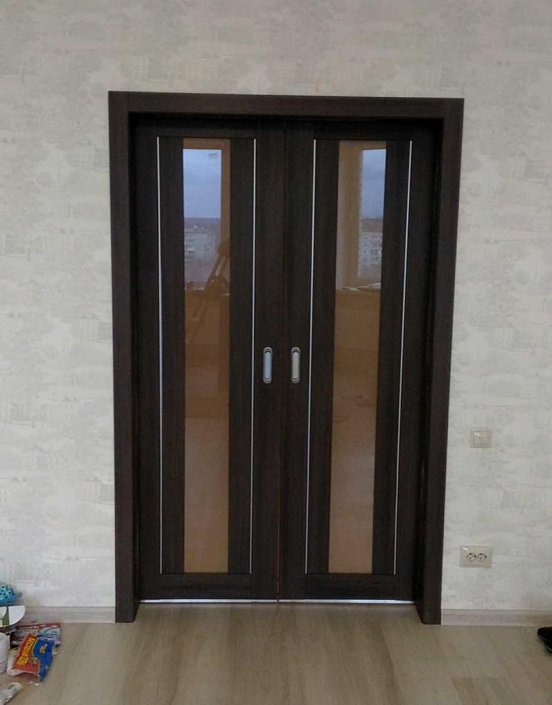 2-я раздвижная дверь Пушкино