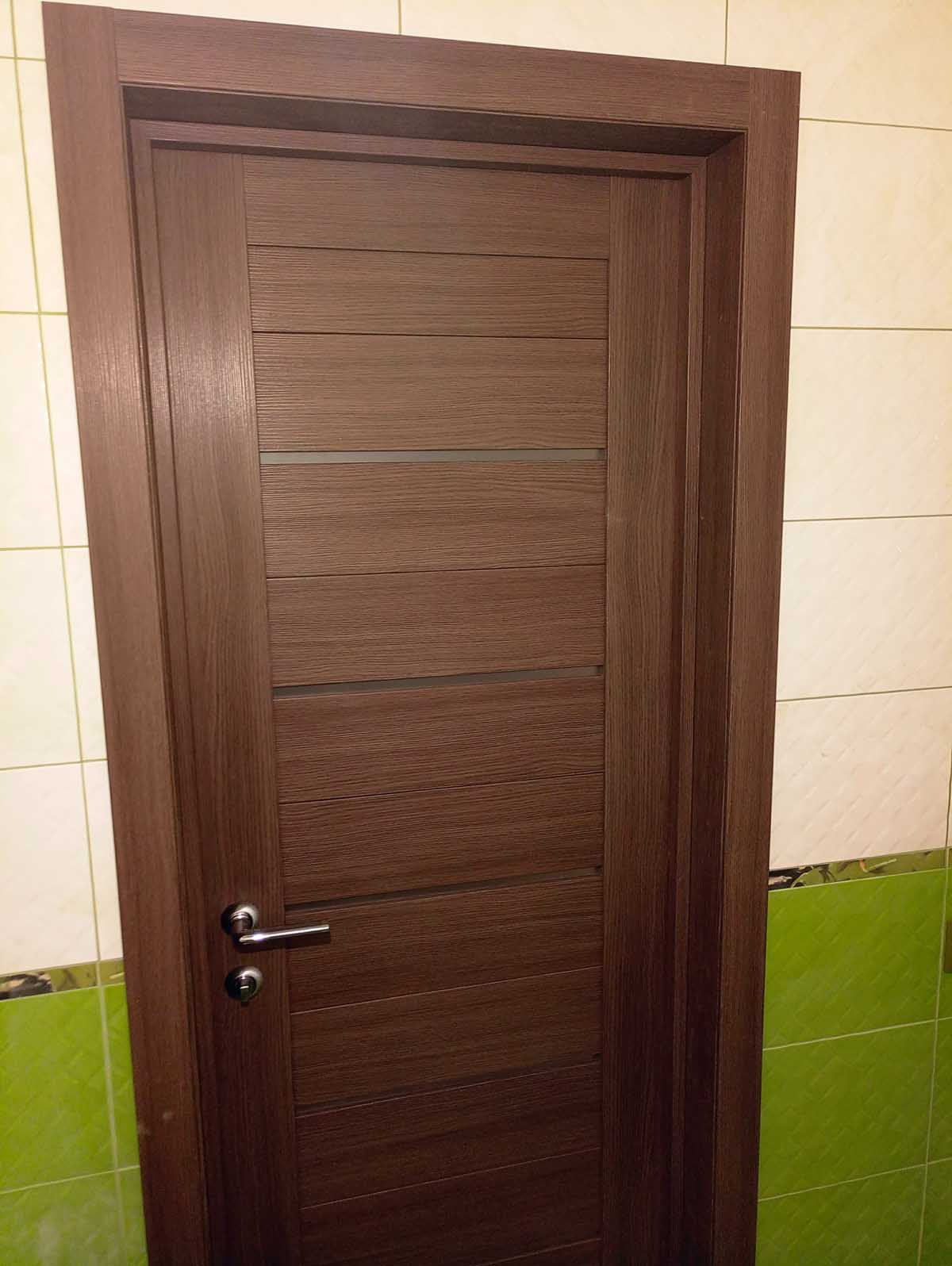 дверь межкомнатная в санузел